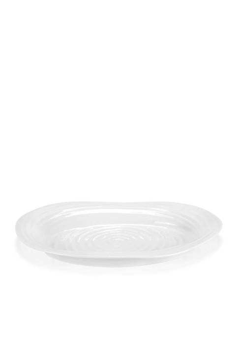 Portmeirion Sophie Conran White Small Oval Platter