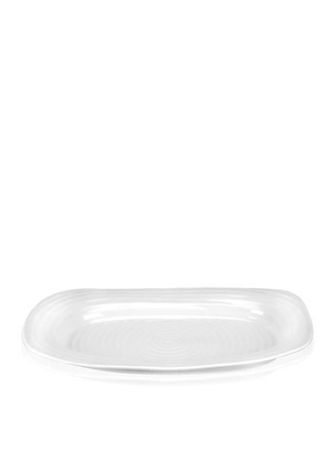 Portmeirion Sophie Conran White Sandwich Tray