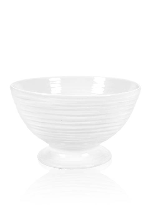 Portmeirion Sophie Conran White Small Footed Bowl
