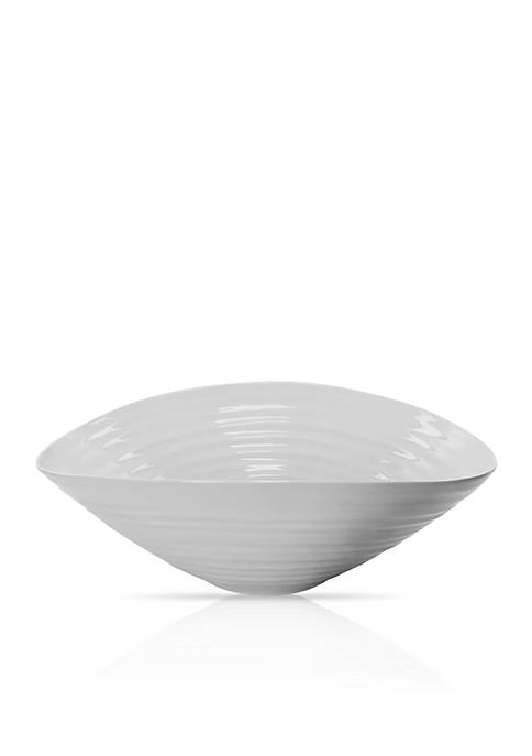 Portmeirion Sophie Conran Gray Medium Salad Bowl
