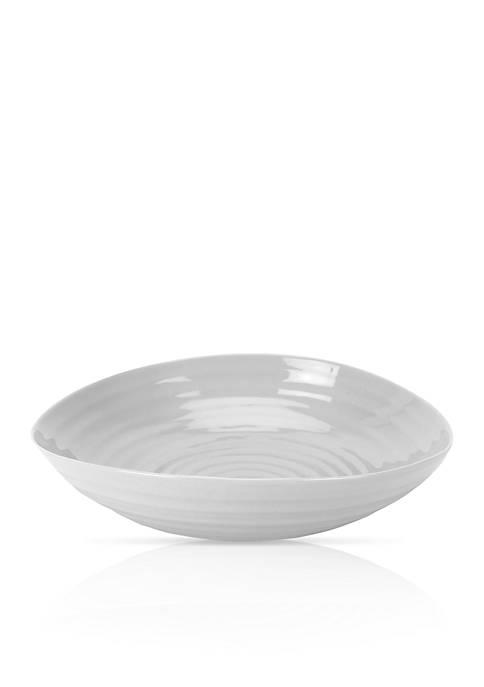 Portmeirion Sophie Conran Gray Pasta Bowl
