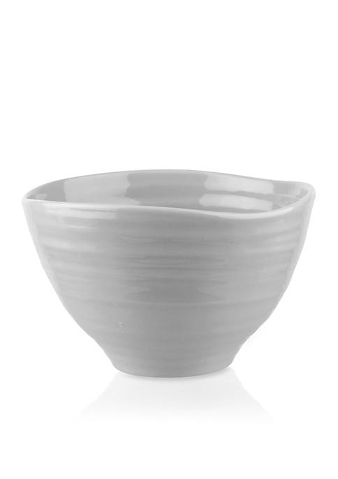 Portmeirion Sophie Conran Gray Small Footed Bowl