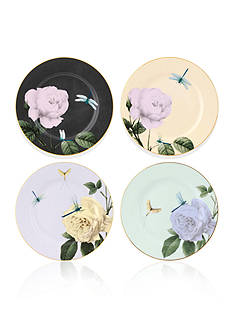 Portmeirion Rosie Lee Set of 4 Assorted Salad Plates