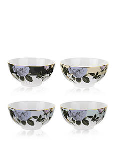 Portmeirion Rosie Lee Set of 4 Assorted Cereal Bowls