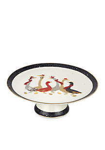 Geese Footed Cake Plate