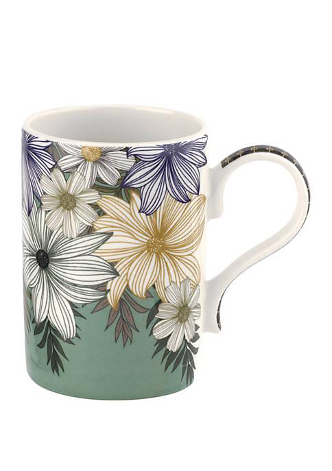 Atrium Floral Mug