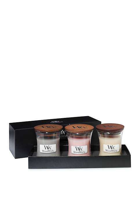 WoodWick® Mini Jar Gift Set