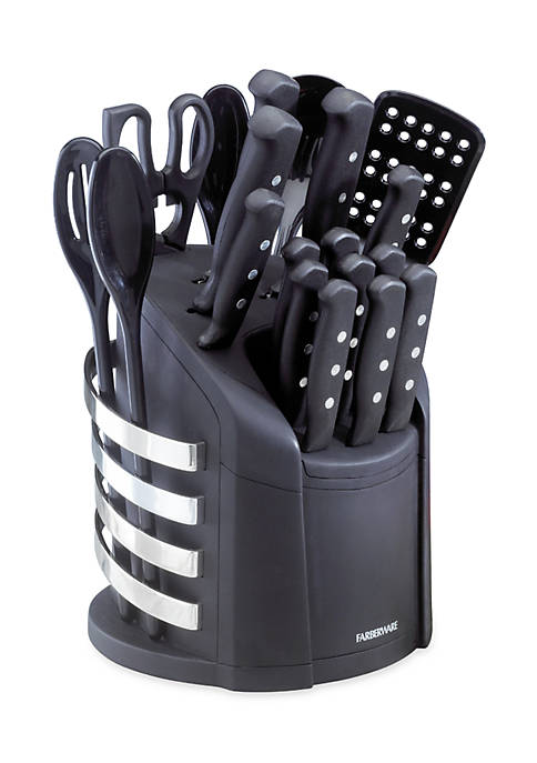 Farberware 17 Piece Wave Cutlery Set in Carousel