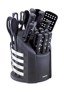 17 Piece Wave Cutlery Set in Carousel