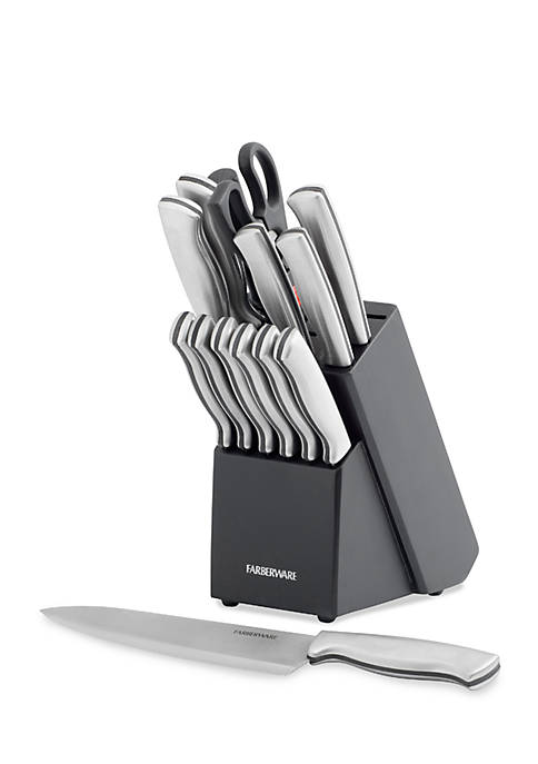 Farberware 15-Piece Stamped Stainless Steel Cutlery Set