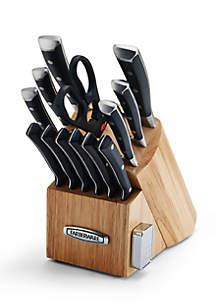 Farberware 14-Piece Edgekeeper Cutlery Set