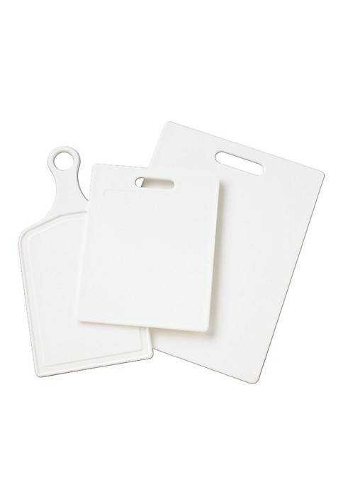 Farberware 3-Piece Poly Cutting Board Set