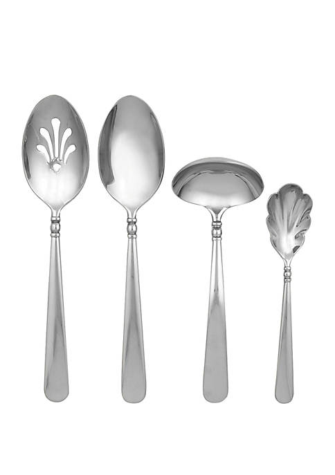 Lenox® Pearl Platinum 4-Piece Hostess Set