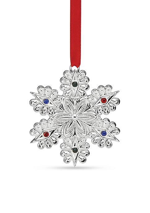 Lenox® Jeweled Snowflake Ornament