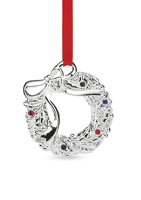 Lenox® Jeweled Wreath Ornament