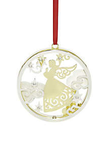 2018 Stamped Angel Ornament