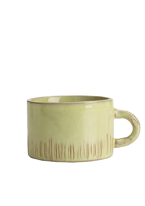 Bellezza Celadon Cappuccino Cup
