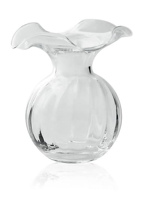 Vietri Hibiscus Small Fluted Vase