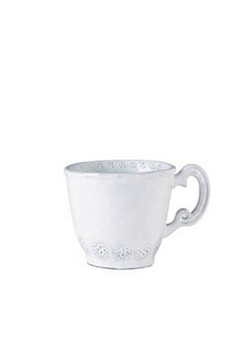 Incanto White Lace Mug