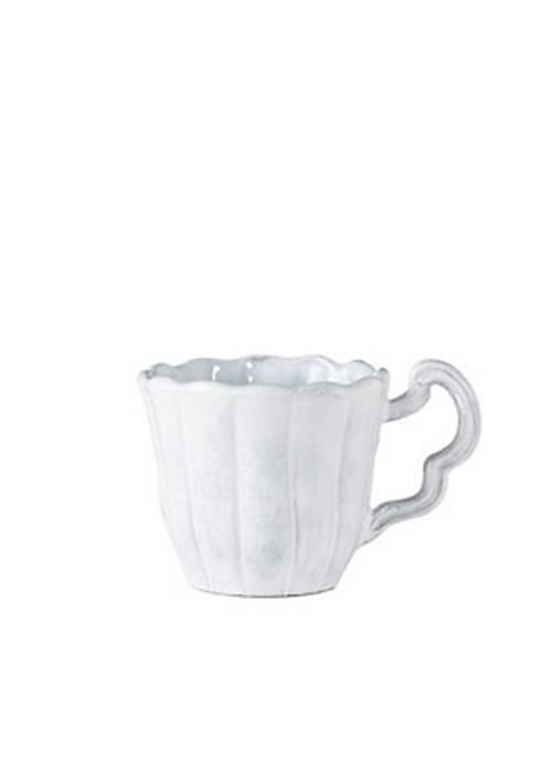 Incanto White Scallop Mug
