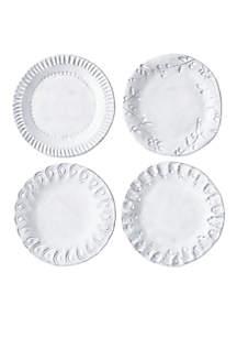 Incanto White Individual Canape Plate
