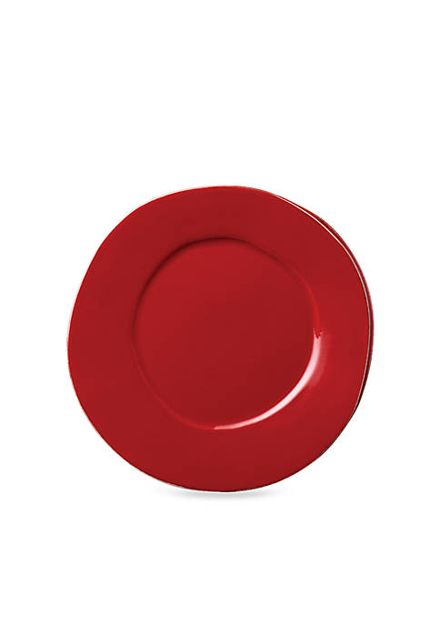 Vietri Lastra Red Dinner Plate 12-in.