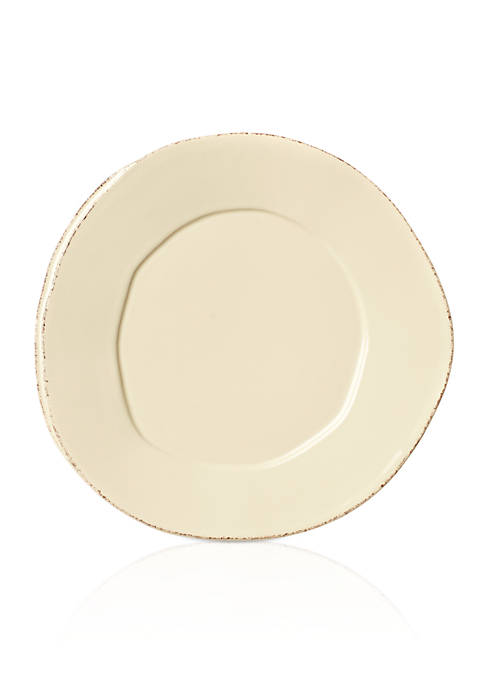 Vietri Lastra Cream 8.75-in. Salad Plate