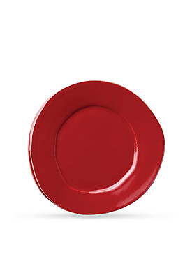 Lastra Red Salad Plate 8.75-in.
