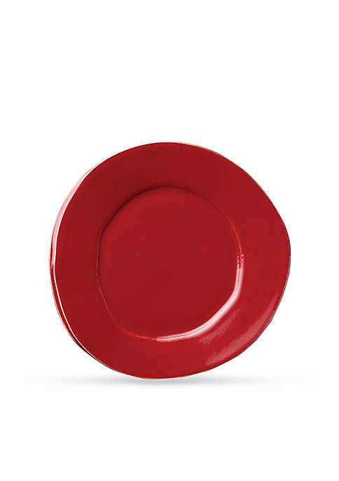 Vietri Lastra Red Salad Plate 8.75-in.