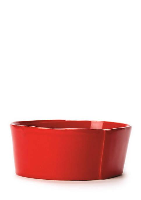 Lastra Red Cereal Bowl 6-in. dia.; 3-in. H