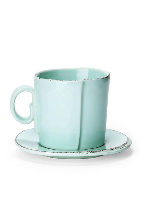 Lastra Aqua Espresso Cup & Saucer