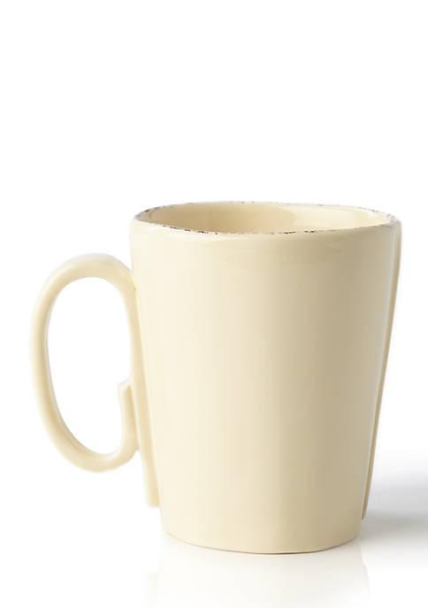 Vietri Lastra Cream 12-oz. Mug