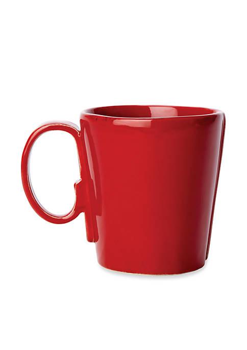Lastra Red Mug 4-in. H
