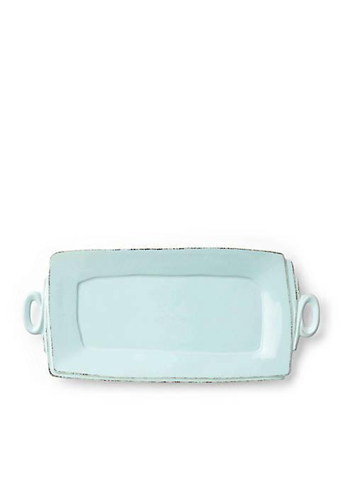 Handled Rectangular Platter