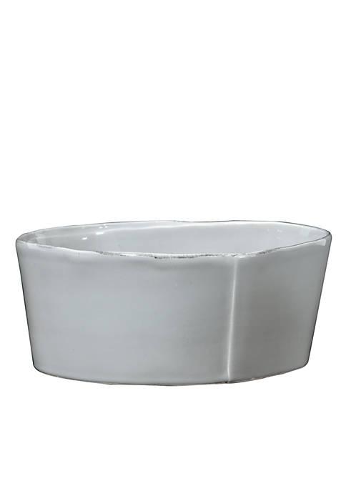 Lastra Gray Large Serving Bowl