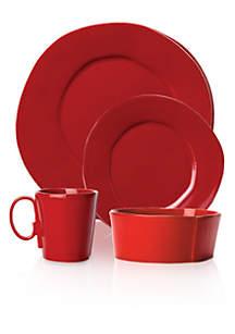 Vietri Lastra Red