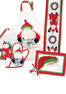 Vietri Old St. Nick Table Linens