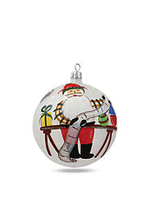 The Old St. Nick Checking Off List Boxed Ornament