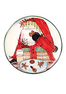 Old St. Nick Santa Cookie Platter 13.75-in.