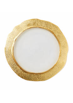 VIETRI Rufolo Glass Gold Dinnerware