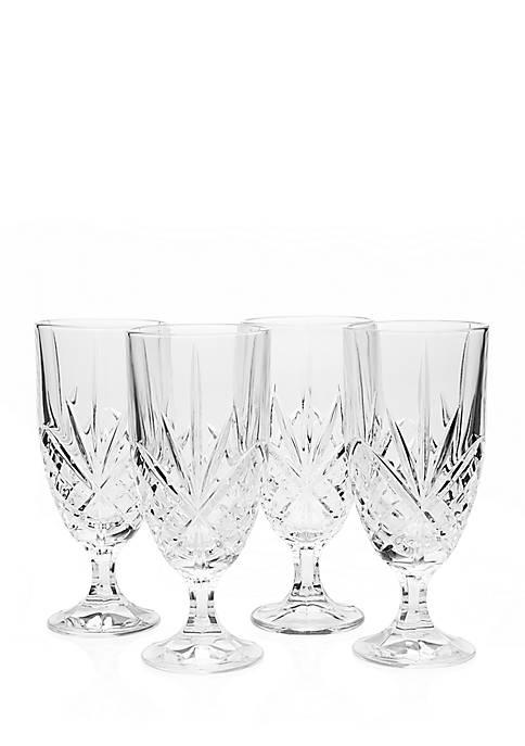 Godinger Dublin Set of 4 Iced Beverage Glasses