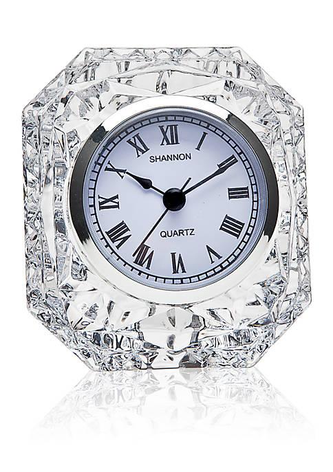 Godinger Shannon Emerald Clock