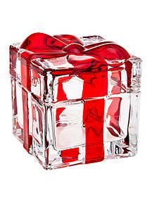 Holiday Gatherings Red Bow Box