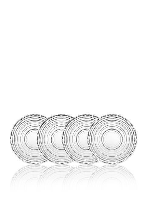 Lumina Glass Dinner Plate, Set of 4