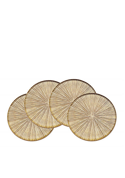 Godinger Luxe Dax Set of Four Coasters
