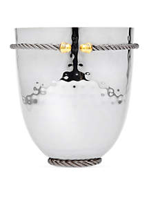 Cable Hammered Stainless Steel Ice Bucket/Cooler