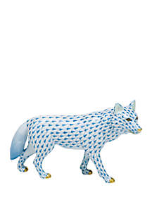 Herend Porcelain Wolf