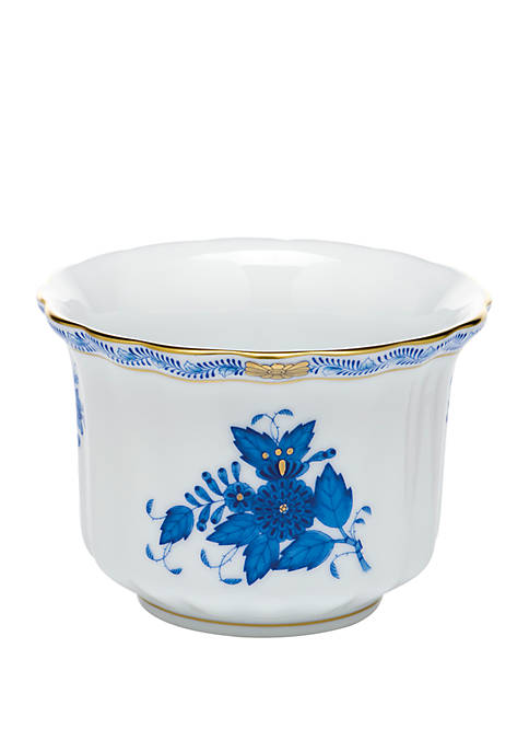 Herend Chinese Bouquet Blue Mini Cachepot