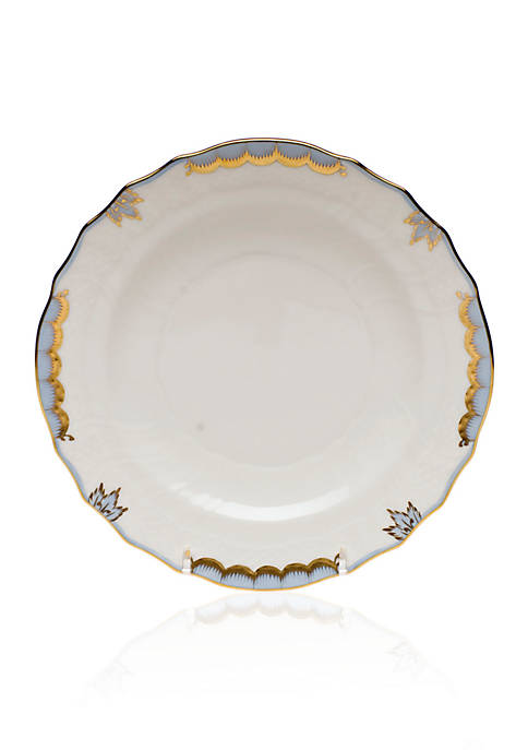 Herend Princess Victoria Light Blue Salad Plate