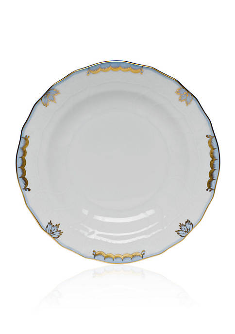 Herend Princess Victoria Light Blue Dessert Plate